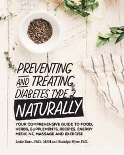 Preventing and Treating Diabetes, Naturally cover