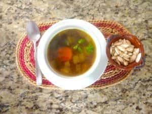 Recipe: Mood-Boosting Split Pea Lentil Soup