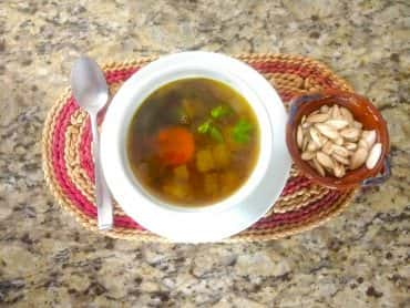 Mood-Boosting Split Pea Lentil Soup Recipe