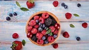 Frutos rojos, Libro Prevenir y Tratar la Diabetes Tipo 2, Naturalmente. Una guía completa de alimentación, hierbas, suplementos, recetas, medicina energética, masajes y ejercicios.