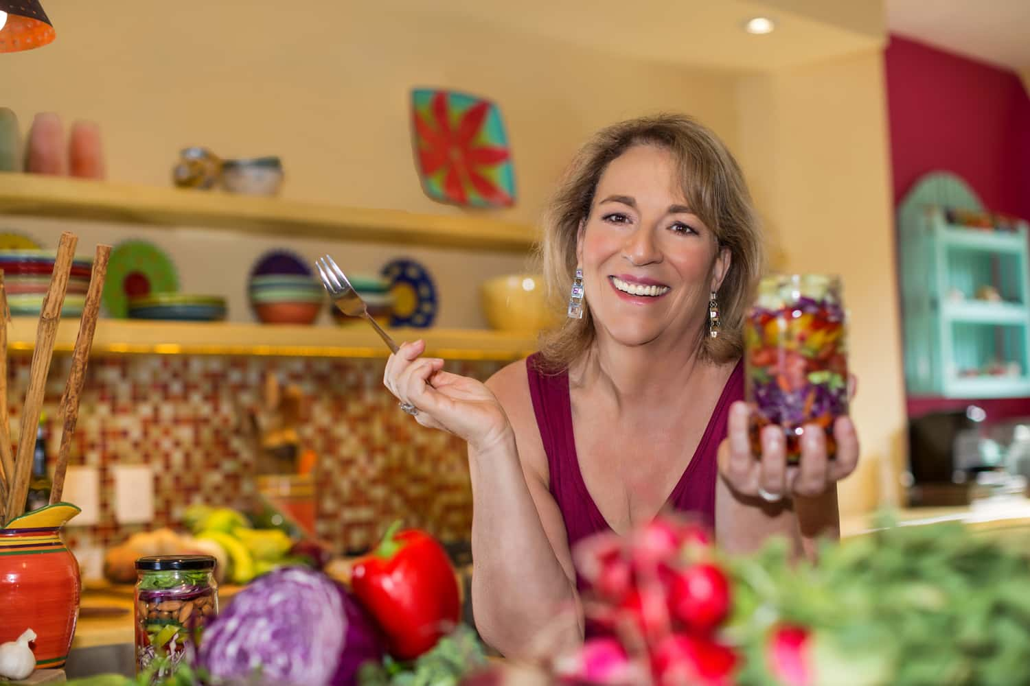 Dr Korn, Leslie Korn, Improve your mood with food, Dr. Leslie Korn