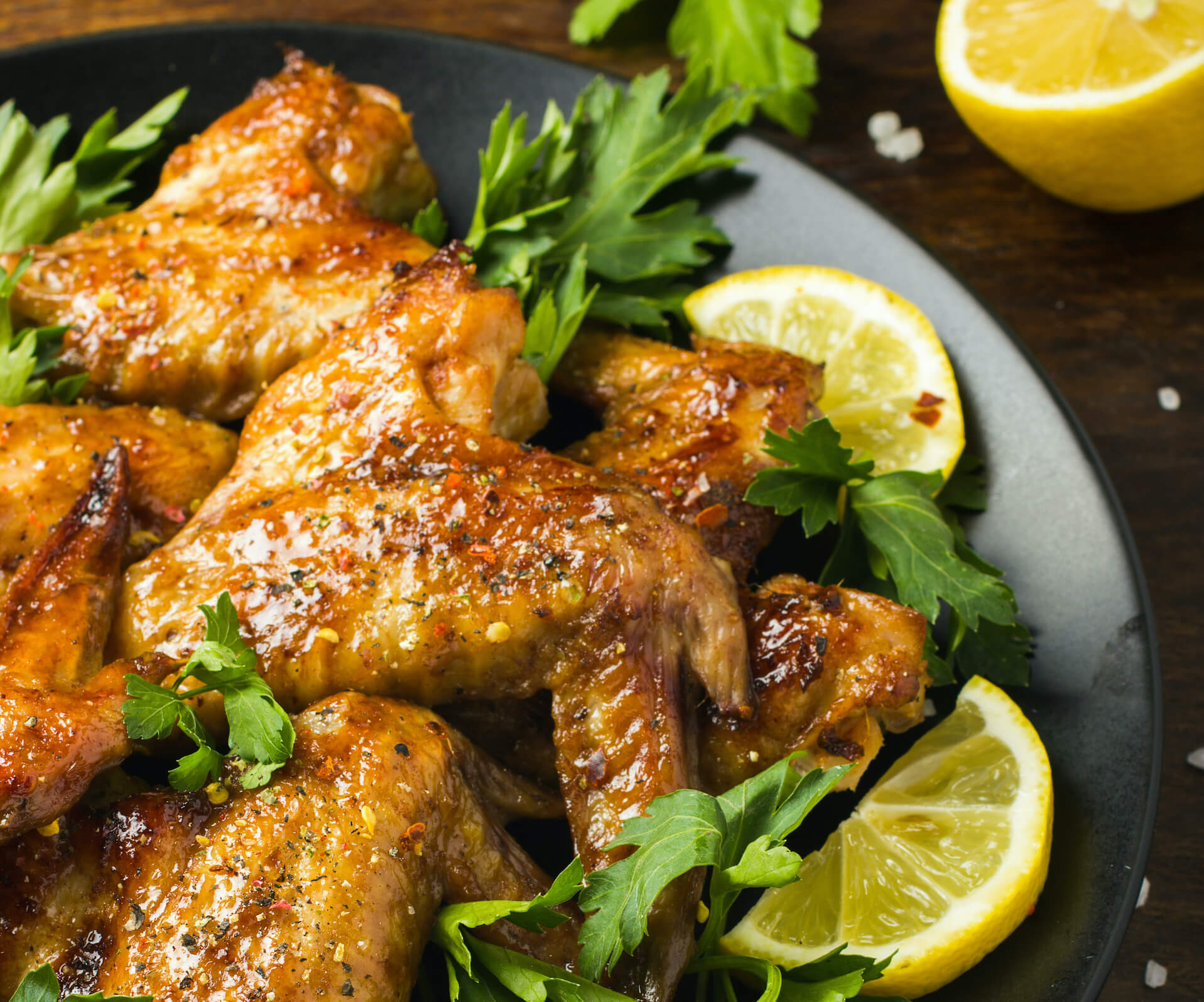 Platillo de pollo al limón