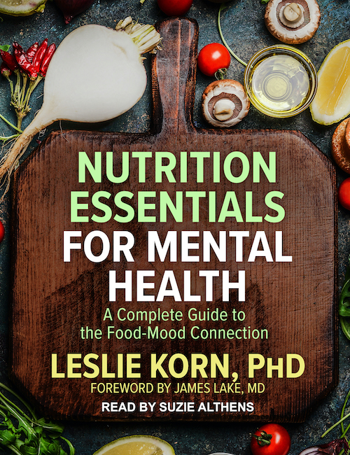 Nutrition Essentials for Mental Health Audiobook Cover